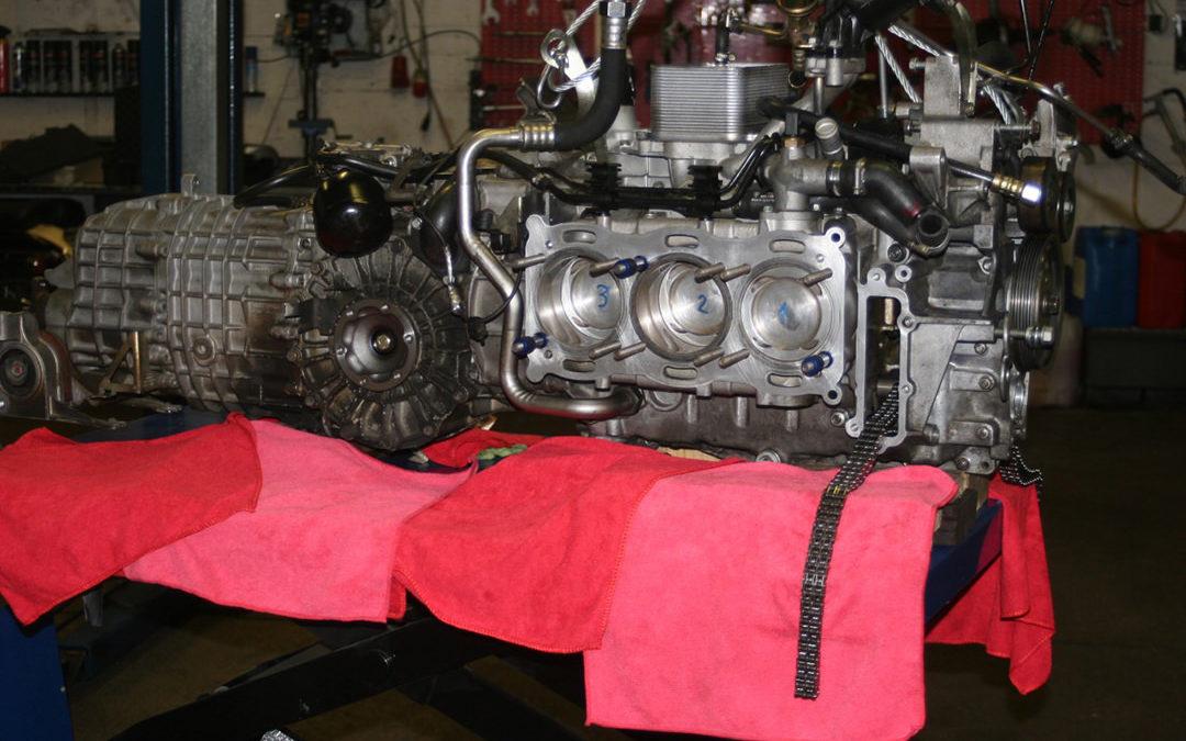 Revision eines Porschemotors